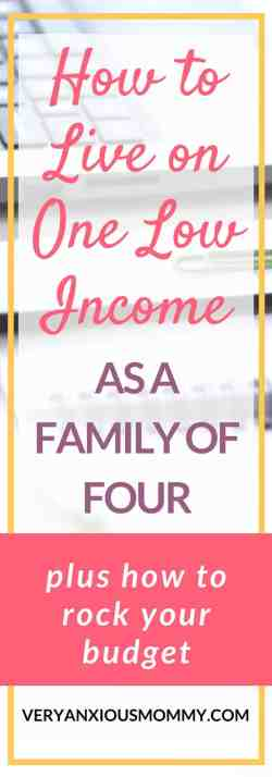 how to live on one income and still save money. save money and budget. create a budget