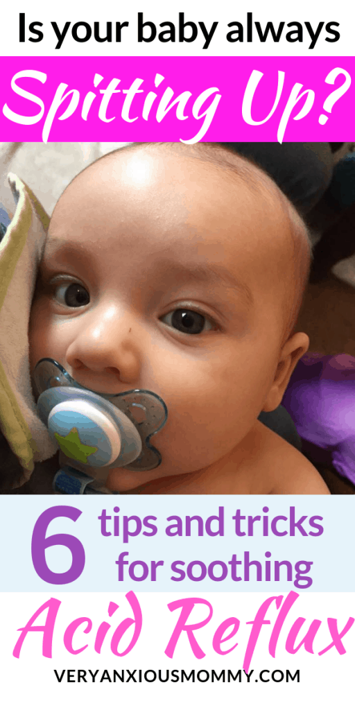 How To Soothe Acid Reflux In Your Baby Who Is Always