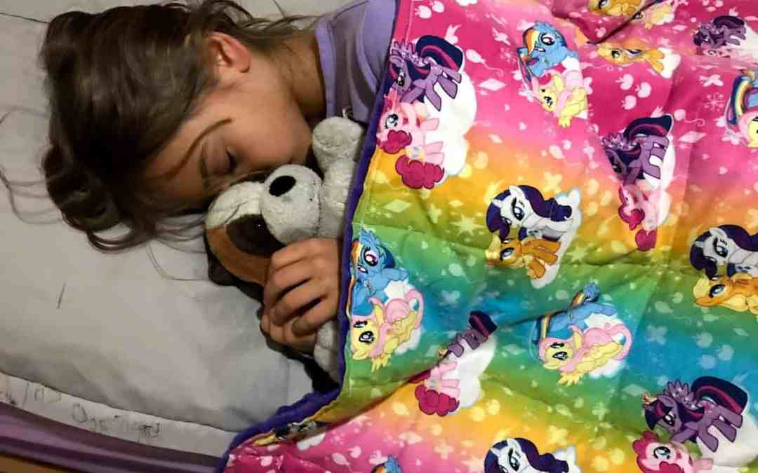 Can a Weighted Blanket Truly Help My Child with Autism Sleep?