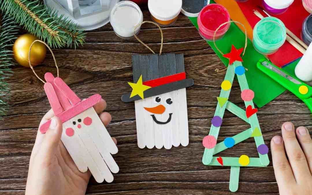 113 Adorable Christmas Crafts Your Kids Will Love