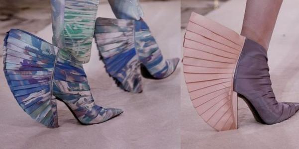 pretty nice c9a8f a0812 Le scarpe couture di Balmain hanno la cresta! – Vincenzo ...