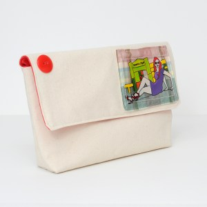 Canvas Pouch Queens Style