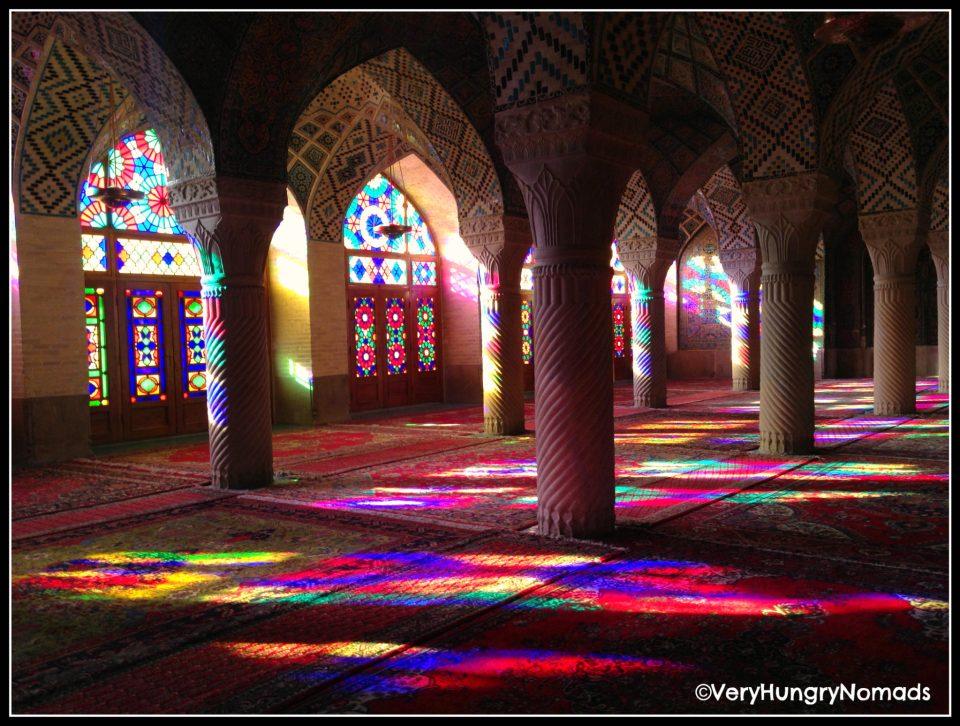 Iran - Inside a mosque