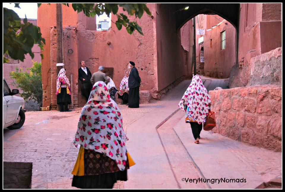 Iran - Village of Abyaneh