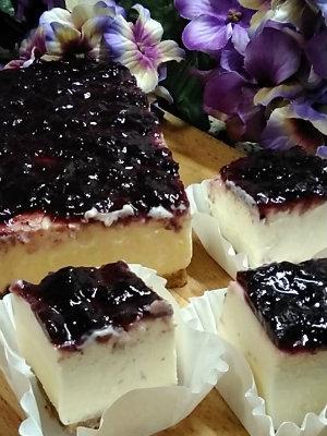 Tarta de queso - porciones