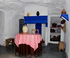 Interior casa-cueva