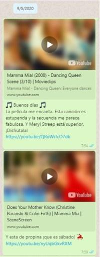 Buenos días musicales 09 Mayo 2020