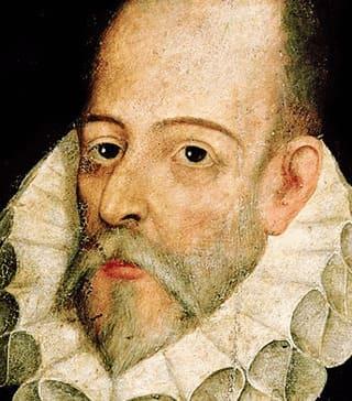 Retrato de Miguel de Cervantes Saavedra