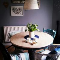 Dining table second makeover (how to paint furniture)