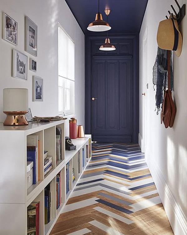 small hallway narrow hallway idea