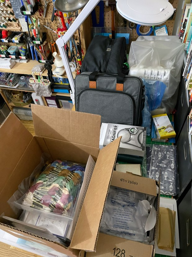 The Very Serious Crafts Podcast, Season 4: Episode 09 – Shelves, Containers, and a Whole Lot of Organizing