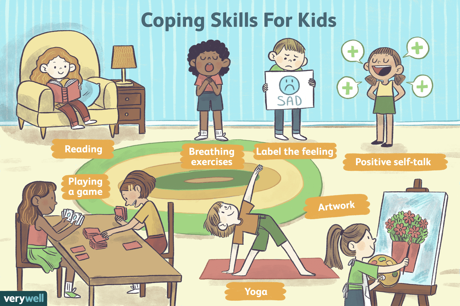 15 Coping Skills For Kids