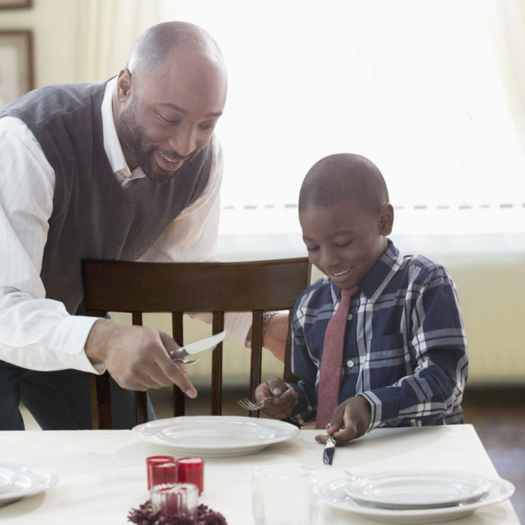 Teaching Table Manners To Elementary Students