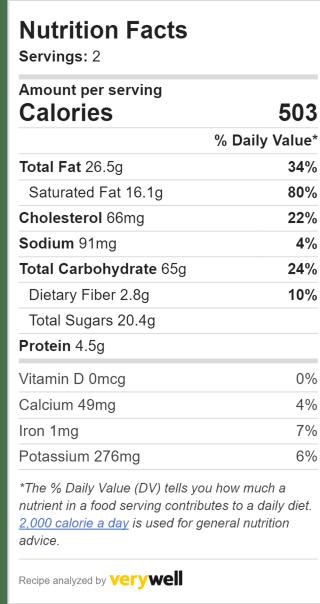 Nutrition Label Embed 1352234341 e02f3ca052604e22991cb4c167550612