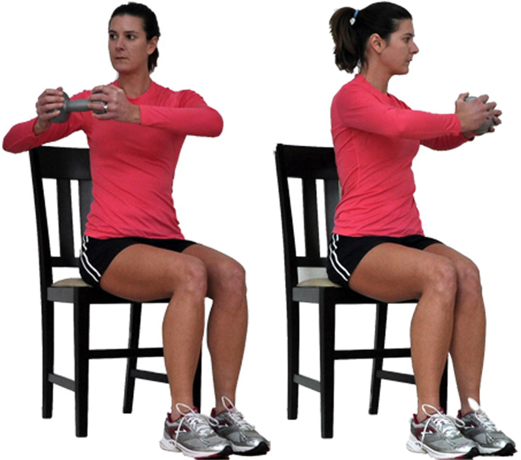 Seated Upper Body Workout From Your Chair