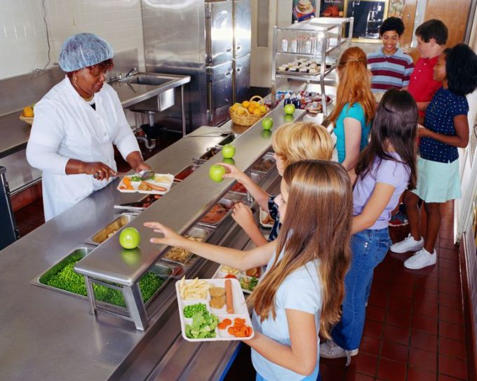Image result for school cafeteria