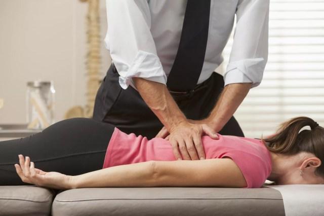 Chiropractor adjustments