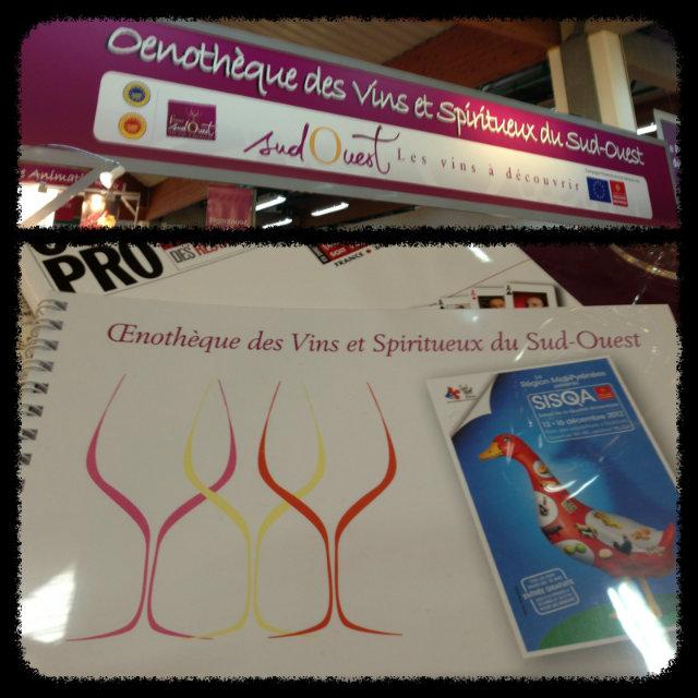 Oenotheque des vins du sud ouest - SISQA 2012