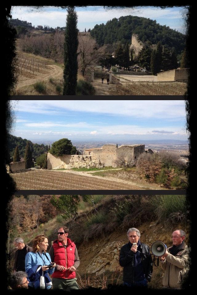 Vinocamp Rhône 2013 - visite Gigondas
