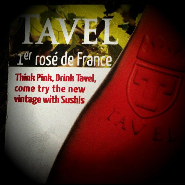 Think pink drink Tavel - salon Découvertes en Vallée du Rhône 2013 - DVR2013