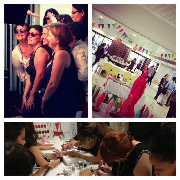 Les différents ateliers-Soiree-SoBlogueuses-2013