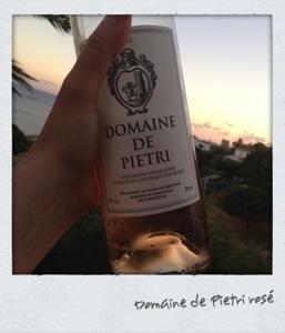Rosé - domaine de Pietri - Corse