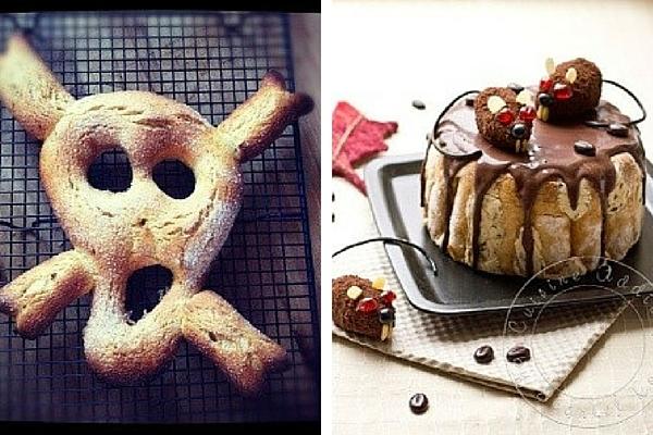 Créations spécial Halloween de La Popotte de Manue et de Cuisine Addict