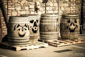 Tonneaux Halloween