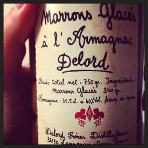 Marrons glacés à l'armagnac - Maison Delord