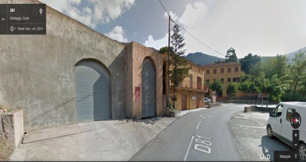 Google Street View du caveau Devichi