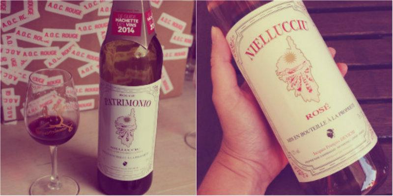 Vin rouge et vin rosé Devichi