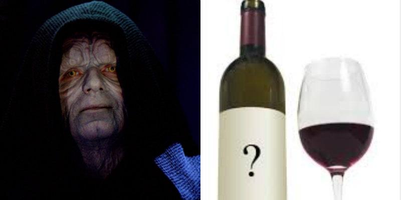 Accords vins et Star Wars - Empereur - vin mort