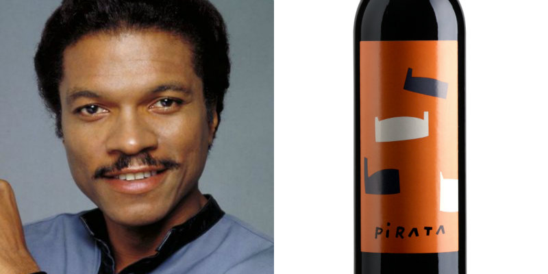 Accords vins et Star Wars - Lando Calrissian - Pirata Vinya Ivo Pages