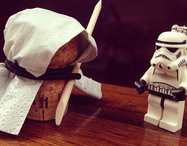 Jedi cork