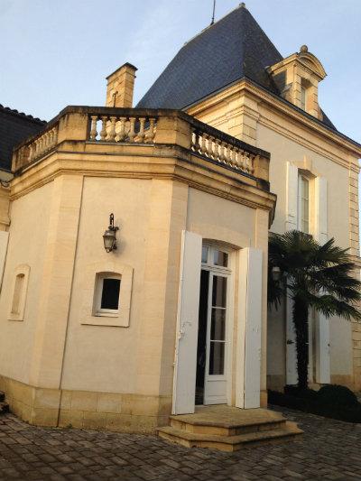 Château habité par la famille Gervoson - Château Larrivet Haut Brion - Pessac Léognan