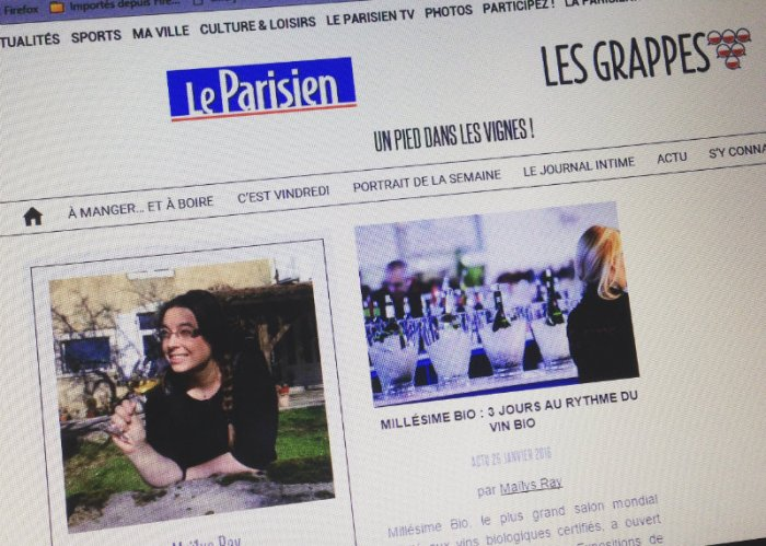 Collaboration Very Wine Trip - Les Grappes x Le Parisien