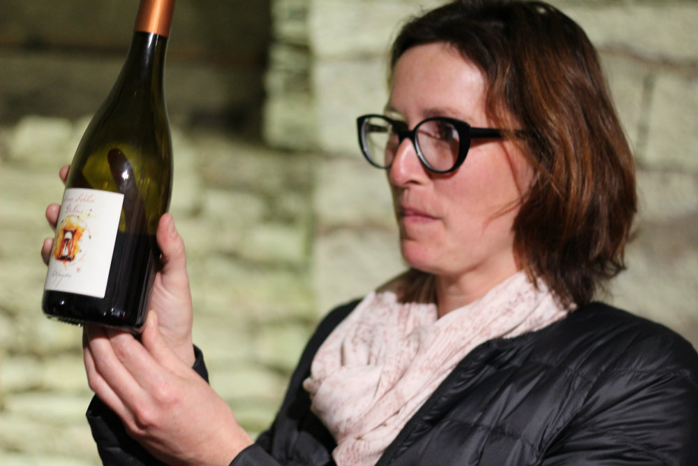 Anne-Sophie Dubois-artisane vigneronne à Fleurie