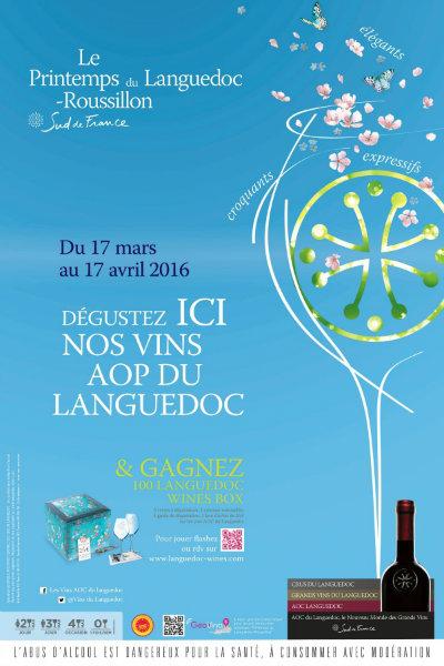 Printemps du Languedoc Roussillon Sud de France