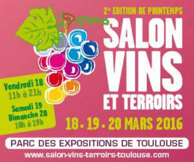 Salon Vins et Terroirs - Toulouse - édition de Printemps