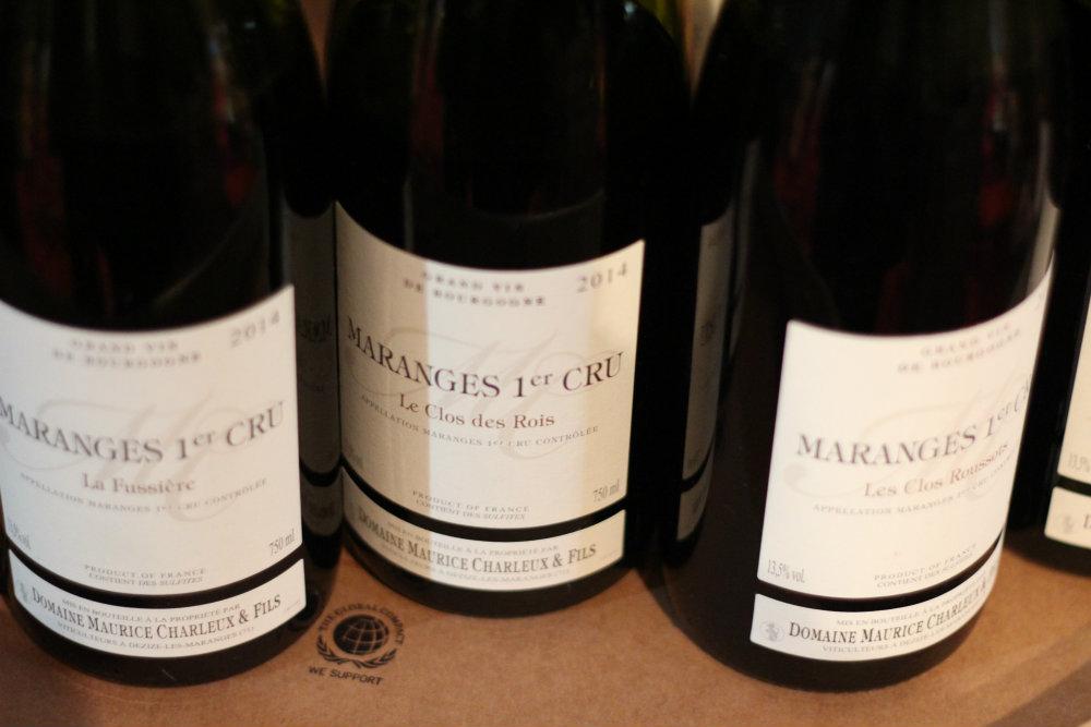 Vins du Domaine Charleux Maurice et fils - Grands Jours de Bourgogne 2016