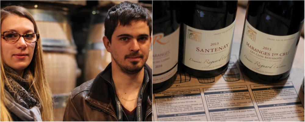 Vins du Domaine Regnard - Maranges - Grands Jours de Bourgogne 2016