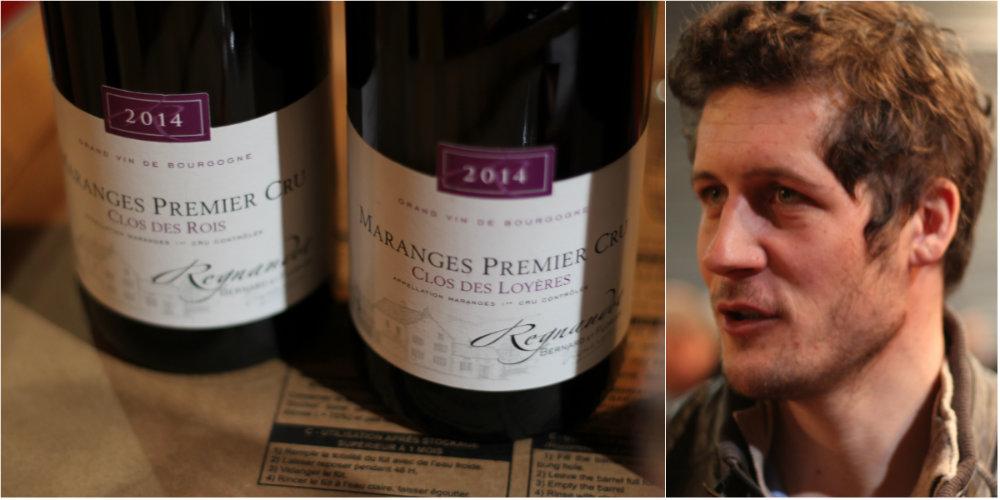 Vins du Domaine Regnaudot Bernard et Florian - Maranges - Grands Jours de Bourgogne 2016