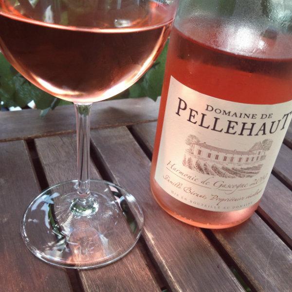 Vins rosés - Domaine de Pellehaut rosé Harmonie de Gascogne