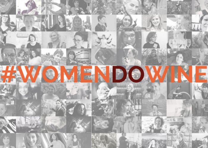 Mosaïque de portraits de femmes du vin pour le 8 mars 2017