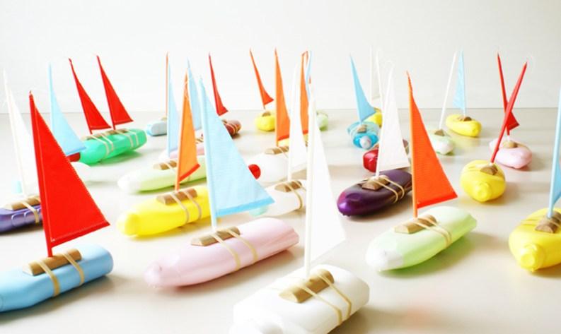 Bottle Boat - Floris Hovers