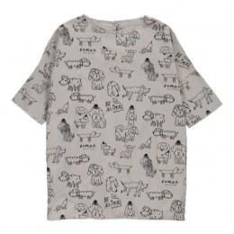 The Animal Observatory - Robe Chiens Giraffe Grey