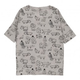 The Animal Observatory - Robe Chiens Giraffe Grey
