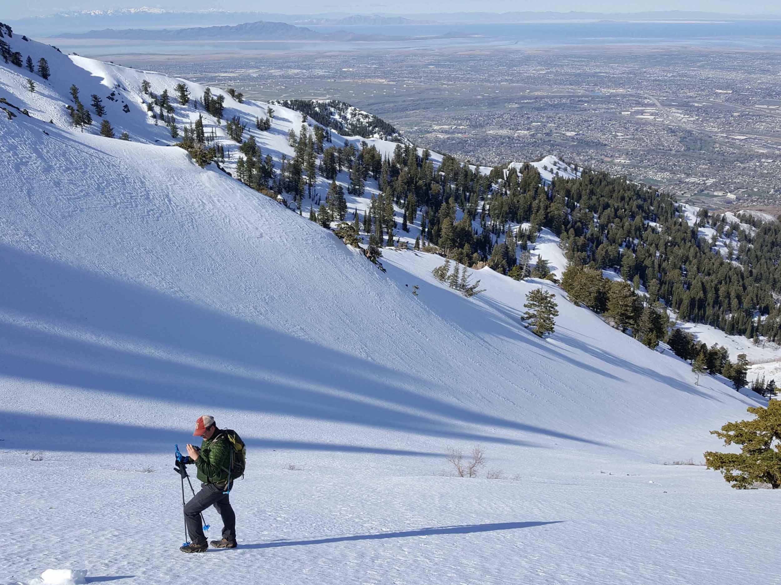 High Adventure Ogden: Snow Climbing Mt. Ogden Peak