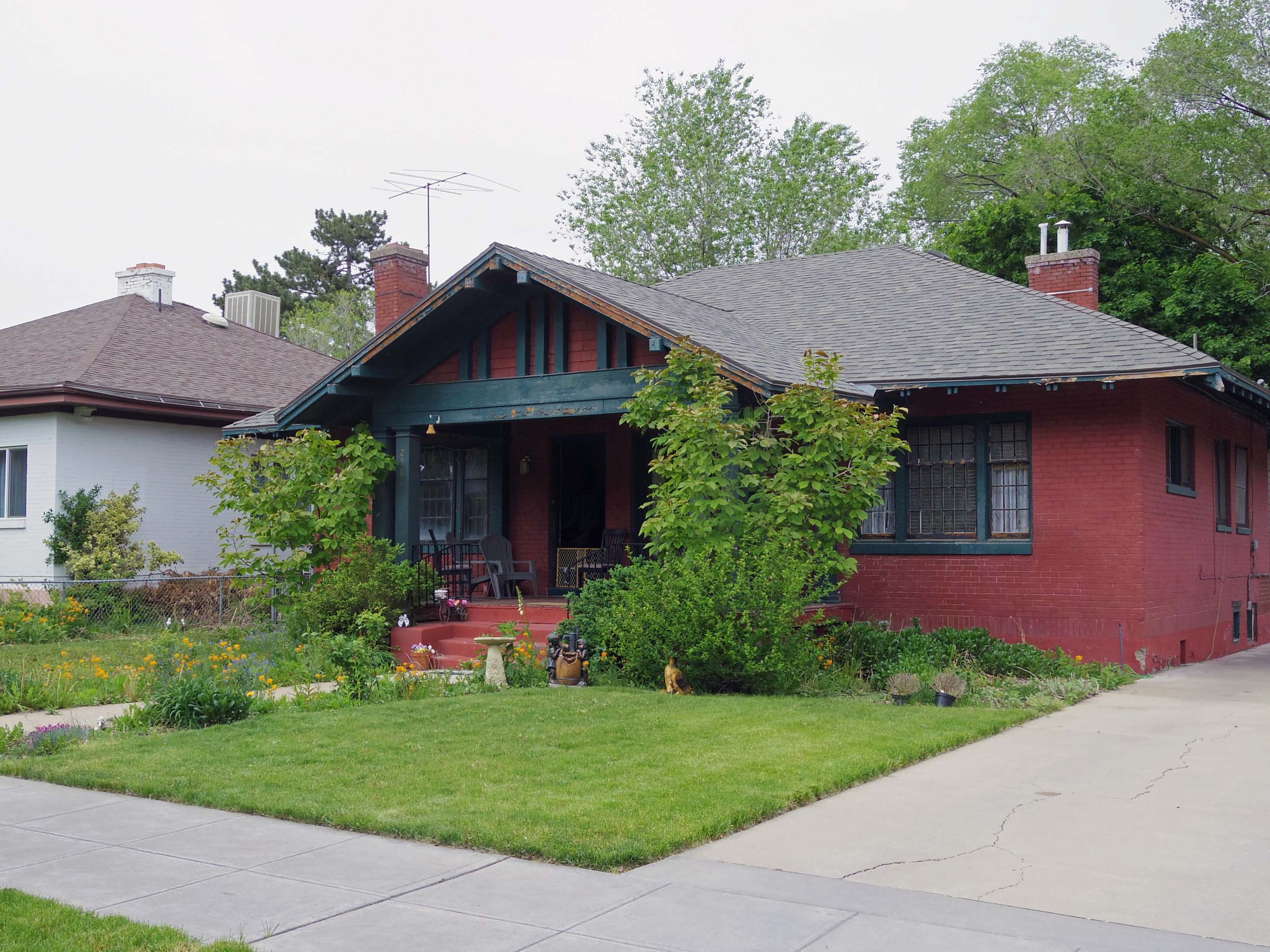 FOR SALE:  Eccles Historic District Duplex