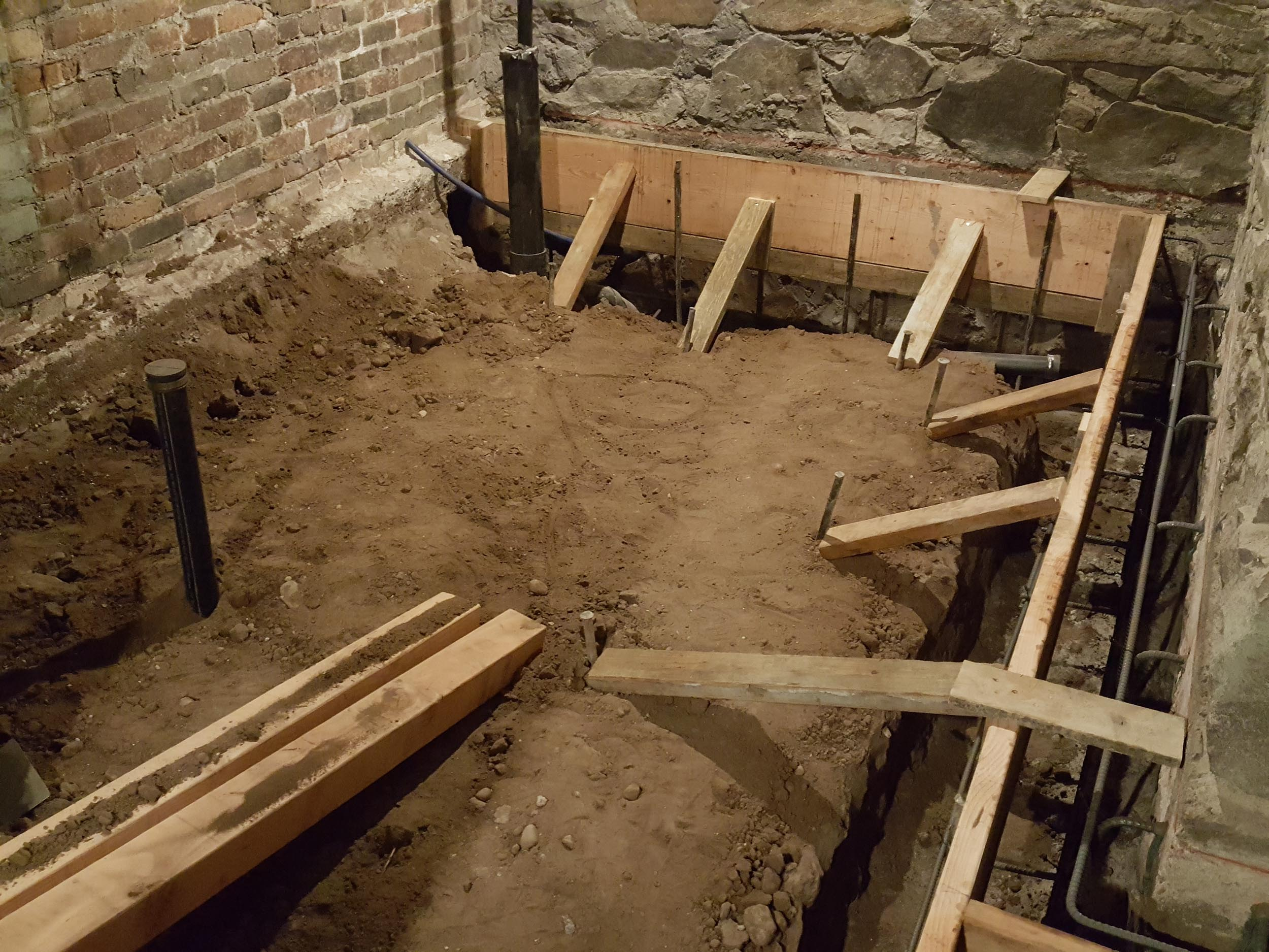 VIDEO:  MY OLD HOUSE – Ep. 3 – 1908 Craftsman Home – Basement Concrete Footings and Floors